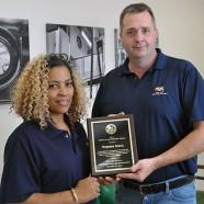 Virginia Linen Service, Inc. receives APSE Employer Award