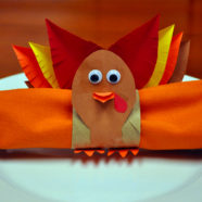 Kid-Friendly Thanksgiving DIY Napkin Rings