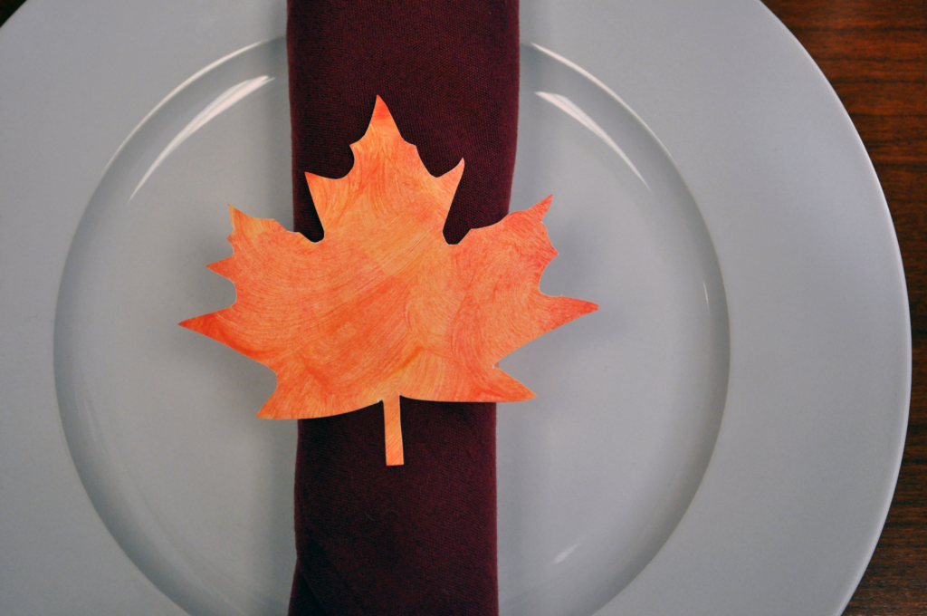 DIY Thanksgiving Napkin Ring