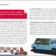 Orange Checkered Truck featured in CSC Network Magazine