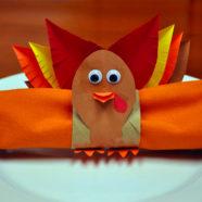 Kid-Friendly Thanksgiving DIY Napkin Rings