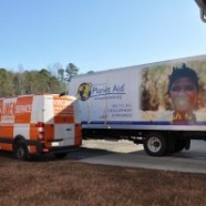 Virginia Linen Donates over 2,000 Washed Garments