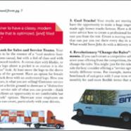 Orange Checkered Truck in CSC Network Magazine