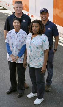 Virginia linen service - petersburg laundry team